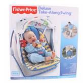 Ljuljačka za bebe FISHER PRICE, Deluxe Take-Along Swing, prenosiva