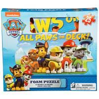 Slagalica CARDINAL, Nickelodeon, Paw Patrol Foam Puzzle, spužvasta, 25 komada