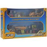 Igračka JCB, Crane and Constuction Playset, set za gradnju