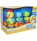 Igračka TOMY Quack Along Ducks, patkice na povlaćenje