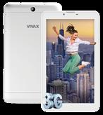 "Tablet računalo VIVAX TPC-703 3G, 7"" IPS multitouch, QuadCore MT8321 1.3GHz, 1GB RAM, 8GB Flash, MicroSD, BT, 2x kamera, Android 6.0, bijelo"