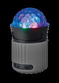 Zvučnici TRUST Dixxo GO LED, Bluetooth, sivi