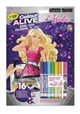 Bojanka za djecu CRAYOLA, Colour Alive, Barbie