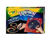 Kreativni set CRAYOLA, Color Explosion Designer, set za dizajniranje sa šablonama