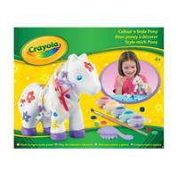 Kreativni set CRAYOLA, Colour 'n' Style Pony, oboji ponija