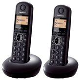 Telefon PANASONIC KX-TGB212FXB TwinPack, bežični, crni