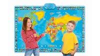Društvena igra ZANZOON 4716005, My Map, interaktivna karta svijeta