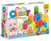 Kocke CLEMENTONI, Baby Clemmy, Soft Blocks Set, 12 mekanih kockica