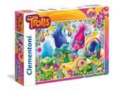 Slagalica CLEMENTONI, Dreamworks, Trolls, Trolovi, maxi, 24 komada