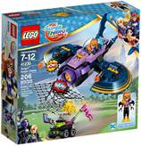 LEGO 41230, DC Super Hero Girls, Batgirl Batjet Chase, u potjedi Batjetom