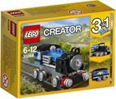 LEGO 31054, Creator, Blue Express, plava lokomotiva, 3u1