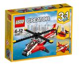 LEGO 31057, Creator, Air Blazer, zračna jurilica, 3u1
