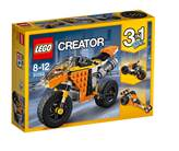 LEGO 31059, Creator, Sunset Street Bike, motocikl, 3u1