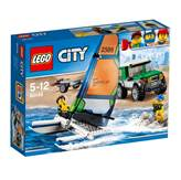 LEGO 60149, City, 4x4 with Catamaran, terenac s katamaranom