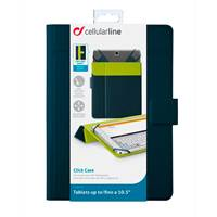 "Futrola CELLULARLINE Click, za tablet, do 10.5"", sa stalkom, plava"