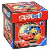 3D slagalica RAVENSBURGER, Disney, Cars 2 Puzzleball, kugla 7cm, 54 komada