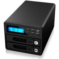 "Eksterno kućište ICY BOX Raidon GR3680-SB3, 2x 2.5""/3.5"" SATA, RAID, eSATA, USB 3.0"