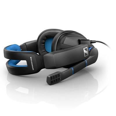 Slušalice Sennheiser GSP 300, mikrofon, crne