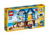 LEGO 31063, Creator, Beachside Vacation, odmor na plaži, 3u1