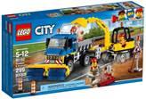 LEGO 60152, City, Sweeper and Excavator, kamion za čišćenje i bager