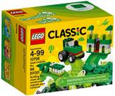 LEGO 10708, Classic, Green Creativity Box, zelena kutija kreativnosti