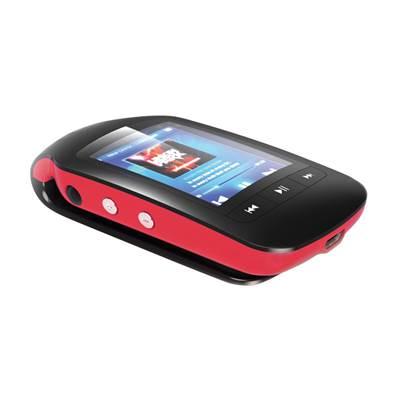 MP3 player TREKSTOR i.Beat jump BT, 8 GB, 1.8'' TFT, BT, pedometar, microSD, crveno-crni
