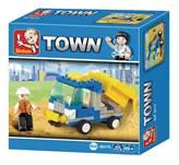 Kocke SLUBAN M38-B0178, Town, Dump Truck, mali kamion