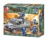 Kocke SLUBAN M38-B0203, Special Forces, Armored Hummer, oklopno vozilo