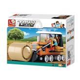 Kocke SLUBAN M38-B0558, Town, Harvester, buldožer