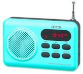 Prijenosni radio ICES IMPR-112, plavi