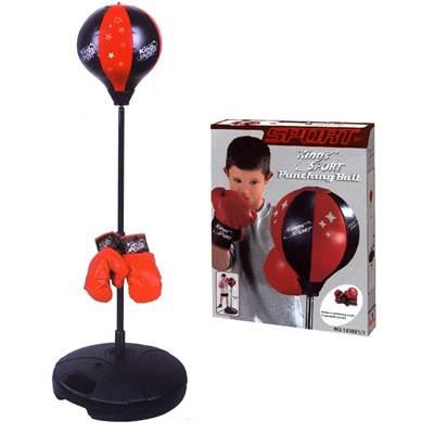 Dječji sportski set za boks KING SPORT, Punching Ball, lopta za udaranje 80-110cm