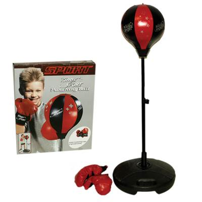 Dječji sportski set za boks KING SPORT, Punching Ball, lopta za udaranje 90-130cm