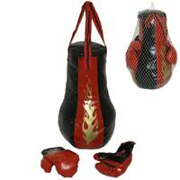 Dječji sportski set za boks KING SPORT, vreća za udaranje