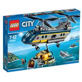 LEGO 60093, City, Deep Sea Helicopter, duboko more, helikopter
