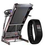 Traka za trčanje XPLORER B-PRO 7.1 + GARMIN Vivofit 3 crna