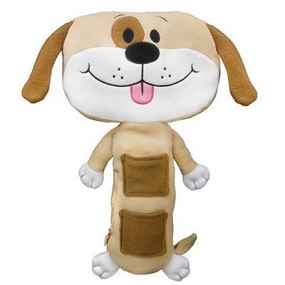 Plišana igračka SEAT PETS, Brown Dog, smeđi pas, za sigurnosni pojas u automobilu