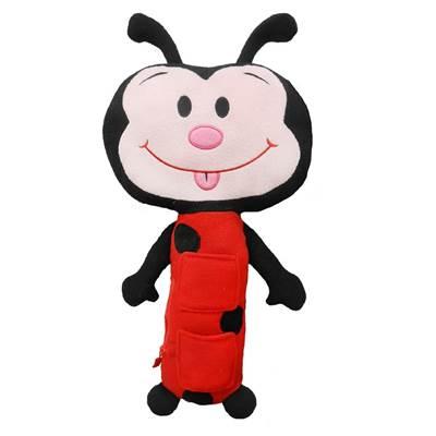 Plišana igračka SEAT PETS, Lady Bug, bubamara, za sigurnosni pojas u automobilu