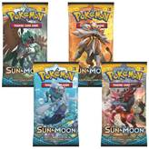 Igraće karte POKEMON, Sun And Moon, booster