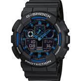 Muški ručni sat CASIO G-Shock, GA-100-1A2ER