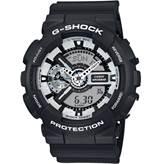 Muški ručni sat CASIO G-Shock, GA-110BW-1AER