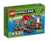 LEGO 21129, Minecraft, The Mushroom Island, otok gljiva