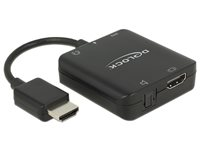 Adapter DELOCK, HDMI Audio Extractor, 4K, kompaktni