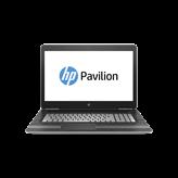 Prijenosno računalo HP Pavilion Gaming 17-ab202nm 1LL00EA / Core i7 7700HQ, DVDRW, 8GB, 2000GB + 128GB SSD, GeForce GTX 1050 4GB, 17.3'' IPS FHD, HDMI, G-LAN, BT, USB 3.1, DOS, srebrno