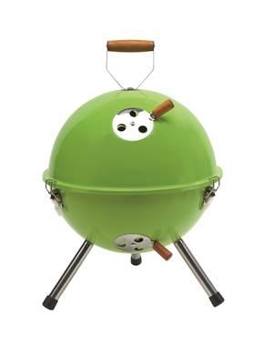 Roštilj na ugljen COOKOUT, prijenosni, zeleni