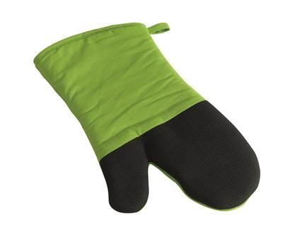 Roštilj rukavica STAY COOL, crno - zelena