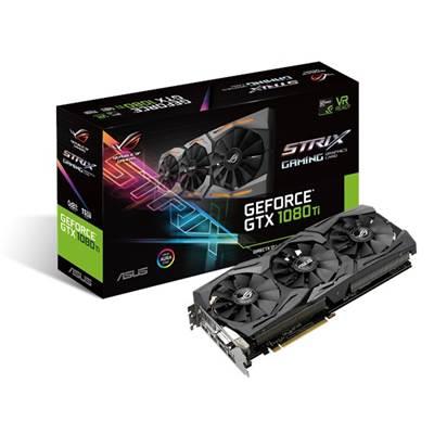 Grafička kartica PCI-E ASUS ROG GeForce GTX 1080Ti Strix Gaming OC, 11GB, GDDR5X, HDMI, DP