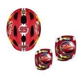Dječja zaštitna kaciga STAMP C893507, Cars 3, 50-56cm + štitnici za laktove i koljena