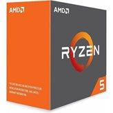 Procesor AMD Ryzen 5 1600X BOX, s. AM4, 3.6GHz, 19MB cache, Six Core, bez hladnjaka