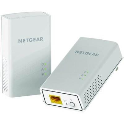 Powerline adapter NETGEAR PL1000-100PES, 1000Mbps, 2xG-LAN, zidni