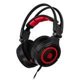 Slušalice TTeSports CRONOS Riing RGB, 7.1 Virtual, USB, crne